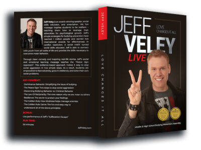 Jeff Veley LIVE DVD case