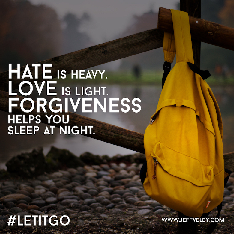 Hate is Heavy Forgiveness Graphic
