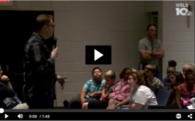 Bullying Prevention Expert Speaks to Middle School Students