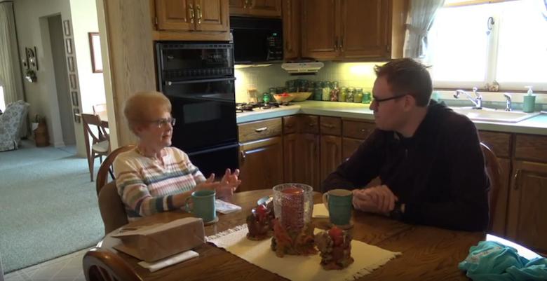 Grandma Jo and Jeff Veley