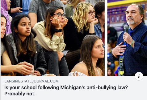 Michigan Schools Accused of Violating Anti-Bullying Laws