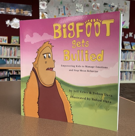 Bigfoot Gets Bullied becomes a #1 Amazon Best Seller