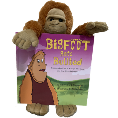 Bigfoot Gets Bullied - Plush Animal and Book 450