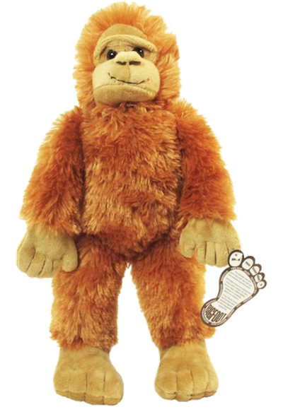 Bigfoot Plush Stuffed Animal