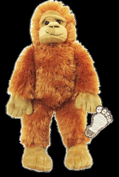 Bigfoot Plush Stuffed Animal