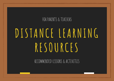 Recommended Resources for Distance Learning