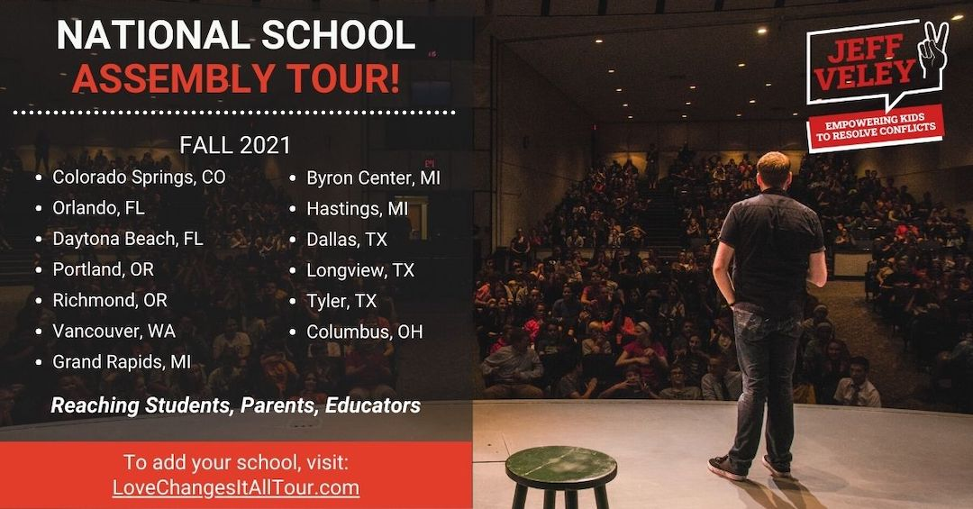 National School Assembly Tour Cities